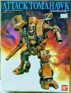 Bandai Robotech Macross Excaliber Mk VI Destroid Attack Tomahawk model kit 1/100
