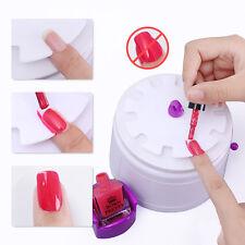 STAMPANTE mini in plastica per Unghie Macchina Nail Art Smalto Scudo Protettore strumenti Dispositivo