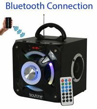 Boytone BT-32D Portable Bluetooth FM Radio Stereo speaker System USB SD MP3 AUX