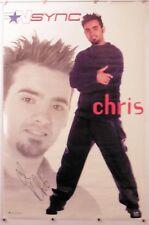 "N Sync - Chris - Poster - Music 22.25"" X 34.50"" Nos (b215)"