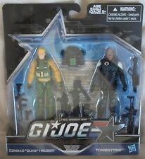 GI Joe Mission Accepted 50th Anniversary Two Pack Duke vs Tombstone NEW