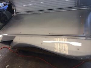 Used Bench Acrylic for a 2010 ETS Legend 548 Tanning bed