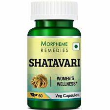 Morpheme Remedies Shatavari 500 mg 60 Capsules Free Shipping