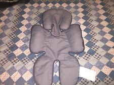 Britax Head and Body Support Pillow for Car Seat and Stroller Grey newborn