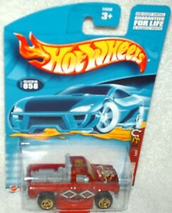 Hot Wheels 2002 Wild Frontier Series Power Plower (chevy truck) gold saw blade