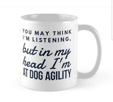 DOG AGILITY MUG GIFT IDEA present classes