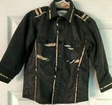 Cowboy Boy's shirt 2T Black