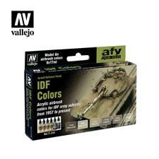Vallejo Model Air Set - IDF Army Colors - 1957 Present 6 X 17ml Bottles 71210