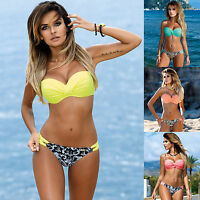 2017 Women Bikini Set Swimsuit Beachwear Swimwear push up monokini Bra Bathing