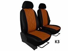 NISSAN NV200 VAN 2010 ONWARDS ECO LEATHER EMBOSSED SEAT COVERS MADE TO MEASURE