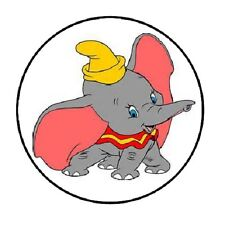 "48 Dumbo!!!  ENVELOPE SEALS LABELS STICKERS 1.2"" ROUND"