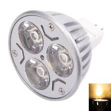 New High Quality MR16 3W 12V LED Spot Light Blub Lamp 3000K Warm White Light