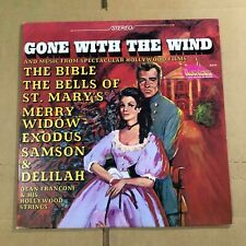 New listing Gone With The Wind And Music From Spectacular Hollywood Films VG+ Vinyl LP N25