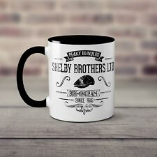 Tommy Shelby / Shelby Brothers BBC Peaky Blinders Inspired Mug / Coffee Cup