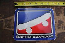 SHORTY'S Skateboards Chad Muska 90's Vintage Skateboarding Post Card STICKER