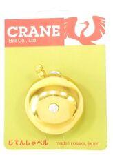 Crane Karen Spring Strike Bicycle Bell - Brass