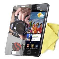 2 Films Miroir Pour Samsung Galaxy S2 i9100 Protecteur D'écran LCD Film