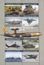 Chad - 2019 NATO Anniversary - 8 Stamp Sheet - 3B-708