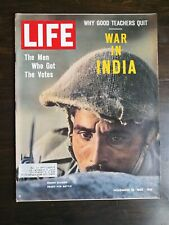 Life Magazine November 16, 1962 - War in India - G.O.P. - Why Teachers Quit Ads
