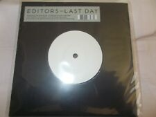 "EDITORS - LAST DAY / PAPILLON ( ACOUSTIC ) - EU 7"" VINYL-UNPLAYED-1000 ONLY-RSD"