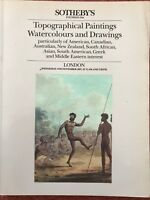 Sotheby's Auction Catalogue - Topographical Paintings, Watercolours 4 Nov 1987