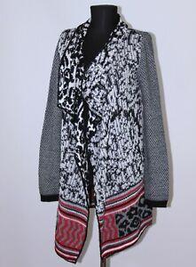 Desigual 38J2L07 womens cardigan jacket robe wrap Size S