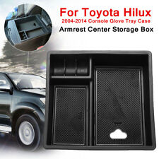 For Toyota Hilux 2004-2014 Glove Tray Case Armrest Center Console Storage Box