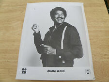 VINTAGE MUSIC PUBLICITY PHOTO ADAM WADE MUSICAL CHAIRS