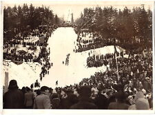 Large Original Photo Ski - Jumping from the 60-ziger Years, Professional Photo