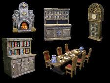 Thomarillion Dungeon Möbel Set Salon Zimmer für Dwarven Forge D&D Heroquest neu