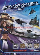 Spyhunter 2 Midway 2004 Magazine Advert #7759