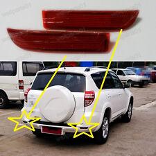 1Pair OEM Replacement Rear Bumper Reflectors For Toyota RAV4 2009-2012