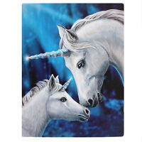 MAGICAL UNICORN HORSE CANVAS 'SACRED LOVE' BY LISA PARKER MYTHICAL WALL ART