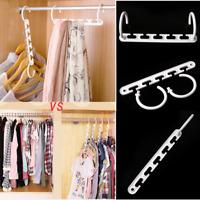 Space Saver Magic Hanger Clothes Rack With Hook Plastic Home Closet Organizer