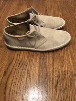 $179.99 Clarks Men Desert Boot black white grid 26110027