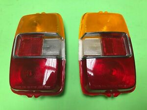 Toyota Corolla KE10 KE11 Rear Tail light Lens LH & RH Set # 2 Genuine NOS