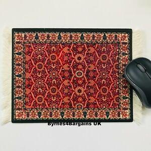 Computer Mouse Mat,Pad desktop laptop Persian Rug FREE POSTAGE UK seller #19