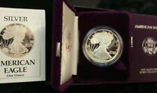 PROOF 1988-S  Silver Eagle in MINT Box w/COA FREE SHIP