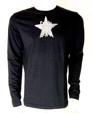 T shirt Calvin Klein Jeans Homme manche longue , Noir , Taille XL