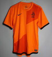 HOLLAND 2012 2013 HOME FOOTBALL SOCCER SHIRT JERSEY TRIKOT NIKE NETHERLANDS (S)