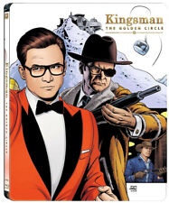 KINGSMAN: The Golden Circle - STEELBOOK EDITION (BLU-RAY) Colin Firth L. Jackson