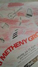 Pat Metheny Group July 23 1983 Greek Theatre Berkeley Ca Concert Poster