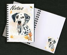 Dalmatian Dog Notebook/Notepad with small image on every page by Starprint