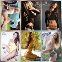 "Hot Sexy Lady Girl Photo Fridge Magnet SIZE 2.5"" x 3.5"" Collectibles set 6 pcs"