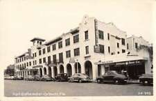 Orlando Florida Fort Gatlin Hotel and Real Estate Office Real Photo PC AA15354