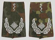 Dienstgradabzeichen Rangschlaufen, gestickt Oberstabsarzt in Fleck .......D7262