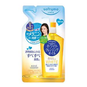 ☀KOSE Softymo White Cleansing Oil 200ml Refill Import Japan F/S