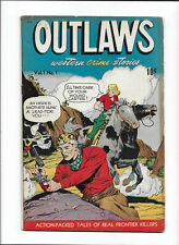 "OUTLAWS #1 [1948 VG-FN] ""LEAD-SLINGING BRIDE"""