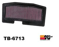 2013 - 2015 TRIUMPH STREET TRIPLE & R ABS 675- K&N AIR FILTER TB-6713