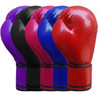 Maya Leather Boxing Gloves Punchbag Training Juniors /& Adults 4 OZ to 16 OZ